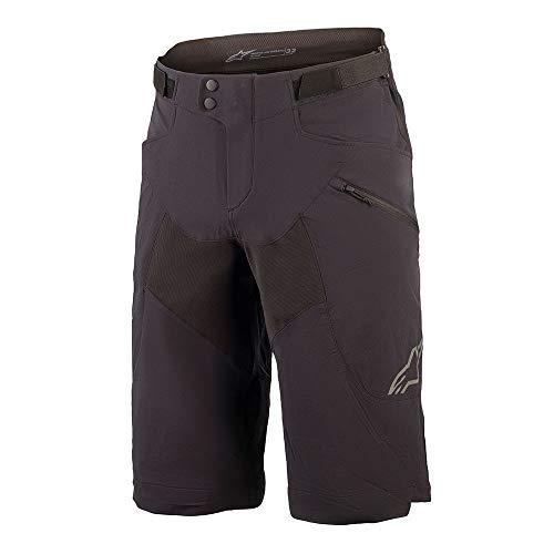 AS 1726420 Apline Stars Drop 6.0 Shorts MTB Herren Mountainbike Downhill Trail, Schwarz , 30 Inch / 76cm Waist