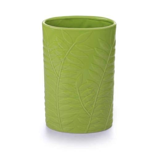 GLD Vaso per Fiori in Vetro | Design Tradizionale in Vetro Spesso | Robusto Design Alto