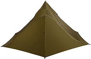 OneTigris TIPINOVA 本格ダブルテント 軽量テント インディアンテント サンセット 耐久性に 軽量 02 (ブラウン)
