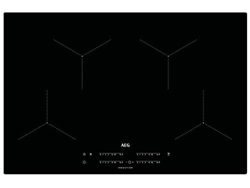 AEG IKB84431IB Induktionskochfeld autark Hob²Hood-Funktion SlimFit-Design 80cm