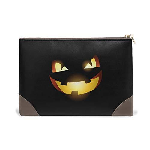 FAJRO Gruselige Halloween-Kosmetiktasche/Make-up-Tasche