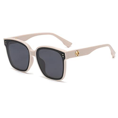 XXBFDT UV404 Protección Gafas de Sol Polarizadas - Gafas de sol cuadradas UV-UV-C2