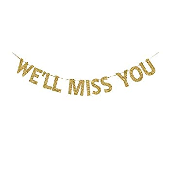 Best we ll miss you banner Reviews