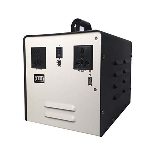 PUDDUP Alimentation Portable 500W Groupe electrogene Solaire Station de Puissance à Onde sinusoïdale Pure 400WH Rechargeable de Secours Batterie Au Lithium Centrale électrique portative
