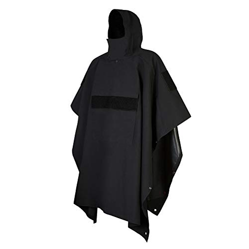 GLORYFIRE Poncho Technical Soft-Shell Poncho Tactical Ripstop Raincoat...
