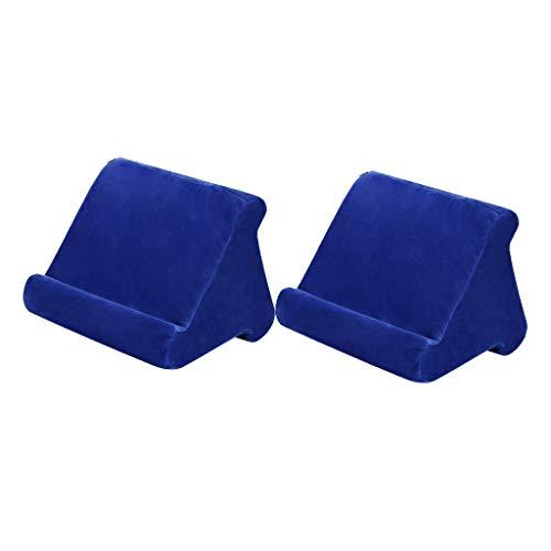 Fenteer 2x Angle Adjustable Tablet Reading Holder Bed Stand Smartphone Rest Cushion