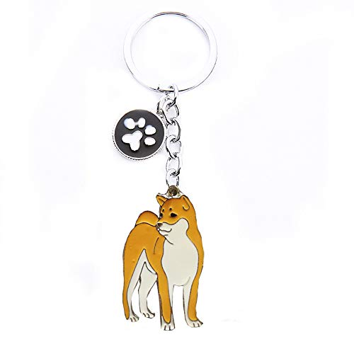 Keychains, Lovely Dog Key-ring Portable Metal Keychain Keyring Key Decor Car Keyring Tag