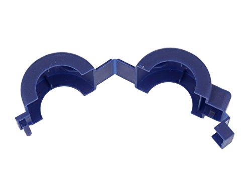 JS Plombierschelle 1/2 Zoll, blau, unbeschriftet, 1-teilig
