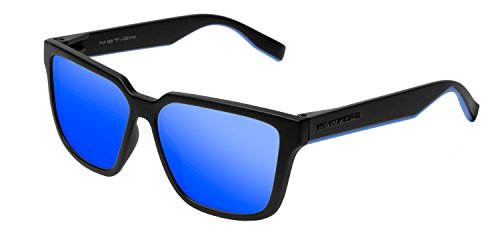 HAWKERS Motion Gafas de sol, Negro/Azul, One Size Unisex-Adult