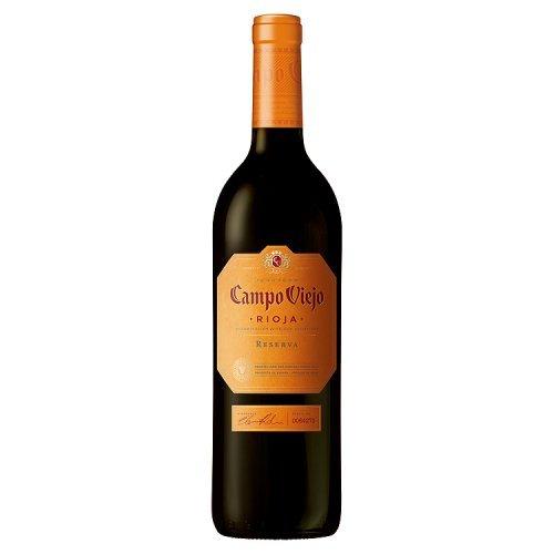 CAMPO VIEJO vino tinto reserva DO rioja botella 75 cl