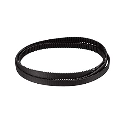 sourcing map GT2 Timing Belt 760mm Circumference 6mm Width Closed Fit Synchronous Pulley Wheel for 3D Printer