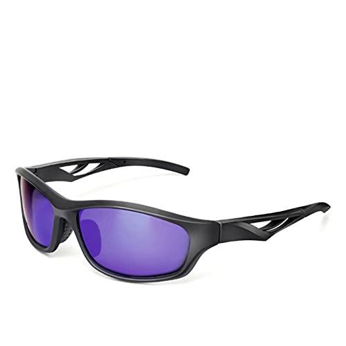 ADSIKOOJF Polarizado Gafas De Sol para Hombres Mujeres,Ligero Viento Gafas Ciclismo Moda Gafas De Sol Deportivas para Corriendo Ciclismo De Montaña Kayak Gafas De Seguridad-C1 14x3.6cm(6x1inch)