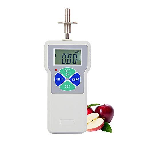 Donci EY-30 Penetrómetro de firmeza de frutas Esclerómetro digital Probador de dureza de frutas para determinar el nivel de madurez de la fruta Enchufe de la UE
