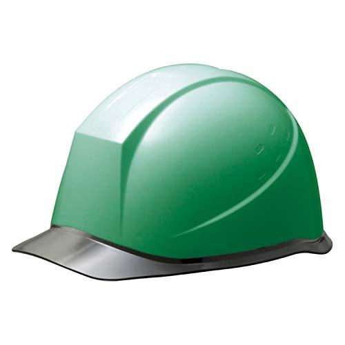 ミドリ安全 ヘルメット 作業用 PC製 クリアバイザー ウインドフロー SC12PCL RA3 UP グリーン/スモーク