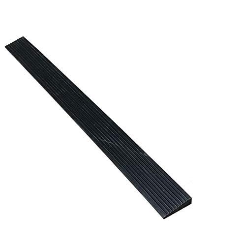 Xzg1-Rampe Schwellenrampsen, rutschfeste Gummi-Rollstuhlrampsen Für Den Innenbereich Multifunktionsrampsen Für Schwarze Dreieckspads Matte Servicerampsen(Size:100 * 8 * 2CM)