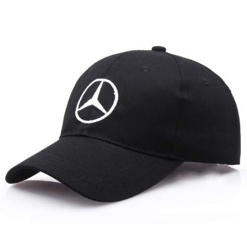 2019 Nueva New para Mercedes-Benz2 Logo AMG Car Cap Sport Baseball Hat Output Ajustable