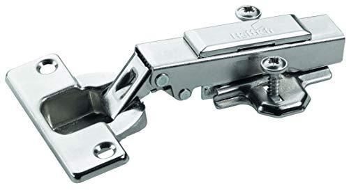 Hettich Intermat Topfscharnier (Scharnier) - mit Klipsmontage, vorliegend - für Türdicken ab 15-25 mm - (6 Stk) - 9219544