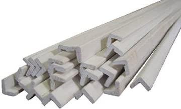 Alexandria Moulding 00170-93096C1 8 ft. Finger Joint Primed Ponderosa Pine - Outside Corner Moulding44; Pack of 10