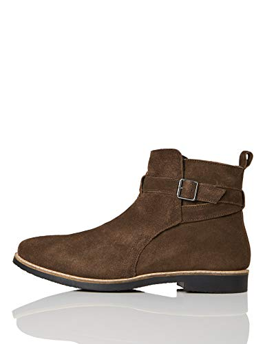 find. Ethan Jodhpur Chelsea Boots, Braun (Chocolate/Black), 43 EU