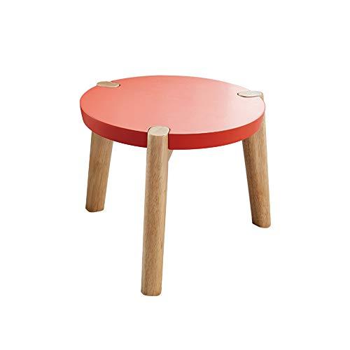 ZTCWS Moderne zitzak met ronde solide zitzak van dik hout