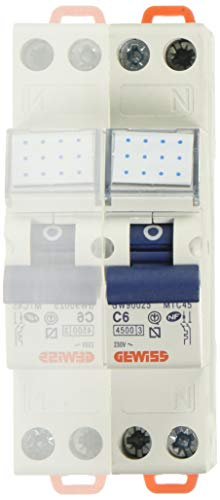 Gewiss GW90025 Interruttore Magnetotermico, Automatico
