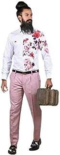 Innova Digital Mens Unstiched Shirt Material (1.6 Cut 58 pana) White