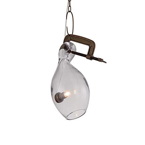 LCSD ARWANTELIER Creativo Estilo Nórdico Moderno Minimalista Sala De Estar Lámpara De Araña Restaurante Bar Lámpara De Cristal De Bola De Una Sola Cabeza E27 * 1 * 7w