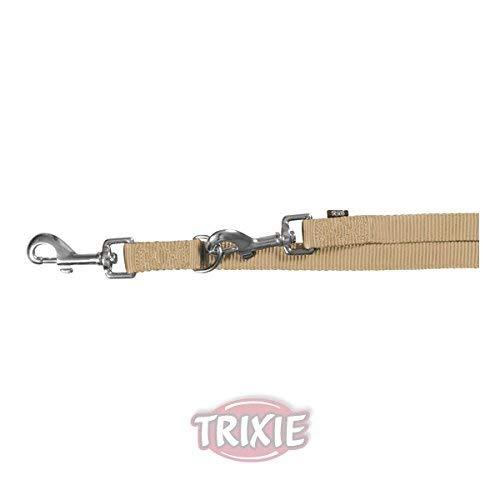 Trixie Premium-Hundeleine, doppelt, verstellbar