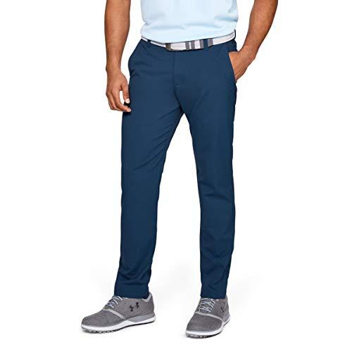 Under Armour Hommes Slim fuselé Pantalon de Golf - Petrol Bleu - 38/34