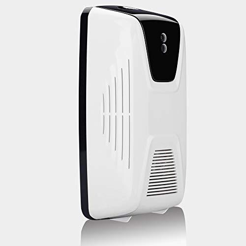 Blusea Tipo de Ventilador Sensor de luz Automático Dispensador de Ambientadores de Aire Use Aceite Esencial o Perfume Dispensador de Aerosol Rellenable de Perfume