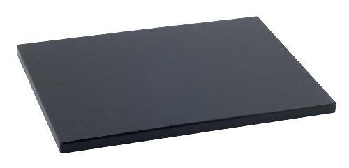 Metaltex - Tabla de cocina, Polietileno, Negro, 38 x 28 x 1,
