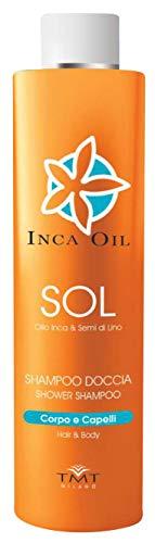 INCA Oil Sol Shampoo Dusche Semi di lino Für die Pflege Der Haare 250 ml