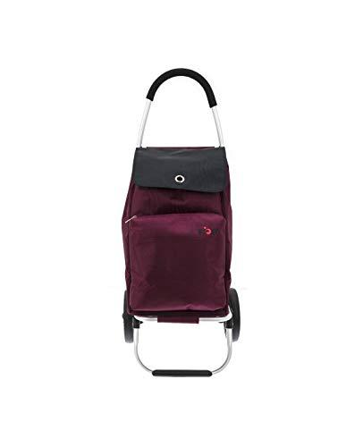 TOP - Einkaufswagen - Thermotasche, 30 kg, mit Normalrollen und Treppsteigerrollen, Zusammenklappbar, Einkauftstrolley - Einkaufsroller