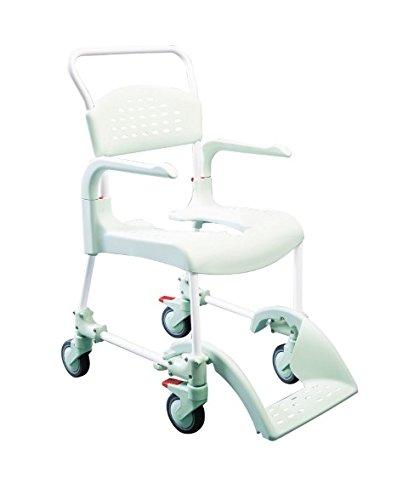 Etac–Ducha con inodoro y silla Clean verde menta 49cm Alto, de baño ayudas ⭐