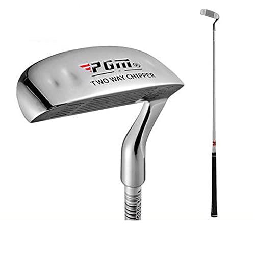 Palo de palos de golf de dos vías astilladora para mujeres y hombres principiantes, corte putter arena cuñas 35 grados palos de golf (35 pulgadas para hombres)