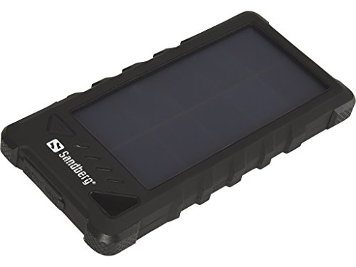 Sandberg Outdoor Solar Powerbank - Cargador de 16000 mAh para Smartphone