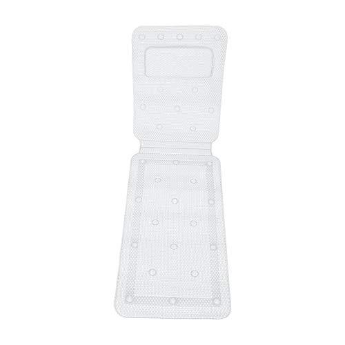 VIFERR Badewanne Matte, Ganzkörper Spa PVC Schwamm Bad Matratze Kissen Kissen weiche Gesteppte Badewanne Matte mit atmungsaktiv