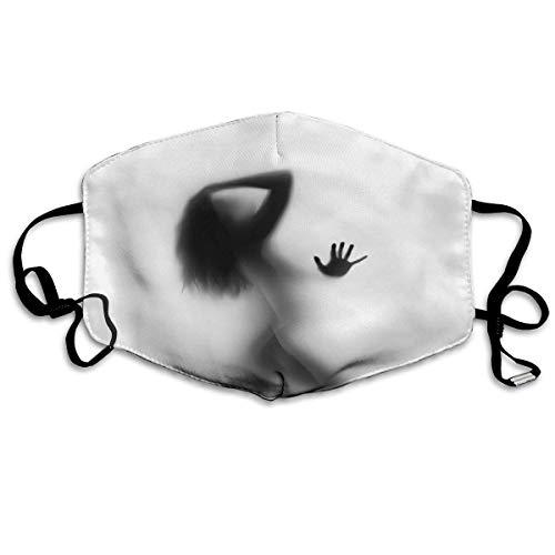 Atmungsaktive Premium Gesichtsschutzhülle,Sexy Lady Schöne Frau Duschen Schatten Frauen Männer Anti Wind Staubdichte Schutzhülle Für Skifahren Camping Reisesicherheit,Täglicher Gebrauch