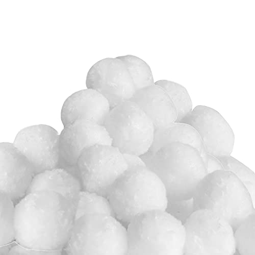 Monzana Bolas filtrantes para Bomba depuradoras de Arena 1400Gr de Bolas para Limpieza de Piscinas
