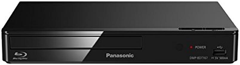 Panasonic DMP-BDT167EF Reproductor de Blu-Ray 3D Negro DVD/Blu-Ray player - DVD/Blu-Ray Players (NTSC,PAL, 1080p, DSD,DTS-HD Master Audio,Dolby Digital,Dolby Digital Plus,Dolby TrueHD, 5.1 canales, AVCHD,BDMV,MKV,MPO,XVID, AAC,ALAC,FLAC,MP3,WAV,WMA)