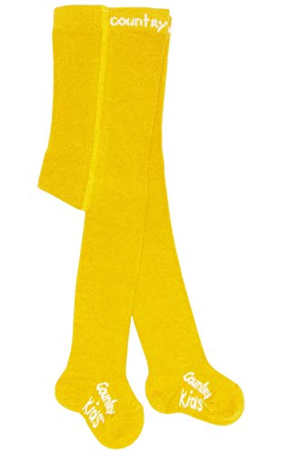 Country Kids C005 0-6mths Chaussettes, Jaune (Marigold Nubuck/A), Unique (Taille Fabricant: 0-6 Mois) Fille