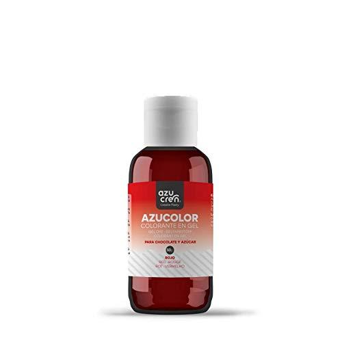 Colorante Alimentario para Repostería - Azucolor - 50 G (Rojo)