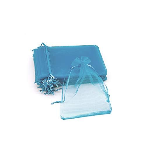 Bolsas de Organza Regalo Blanco (15x20cm) Bolsitas para Cara