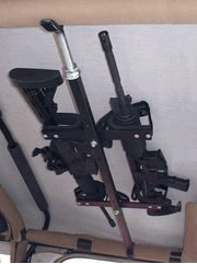 Great Day Quick-Draw Overhead Gun Rack for Tactical Weapons-Jeep 42