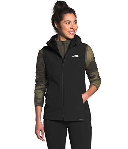 The North Face Women's Shelbe Raschel Hooded Vest, TNF Black, M