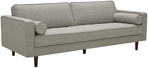 Best Amazon Brand – Rivet Aiden Mid-Century Sofa with Tapered Wood Legs, 87