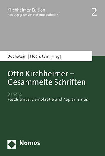 otto kirchheimer gesammelte schriften