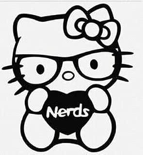Hello Kitty I Love Nerds PREMIUM Decal 5