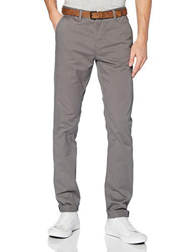 TOM TAILOR Denim Slim Classic Pantaloni, 10952-Castlerock Grey, 32/30 Uomo