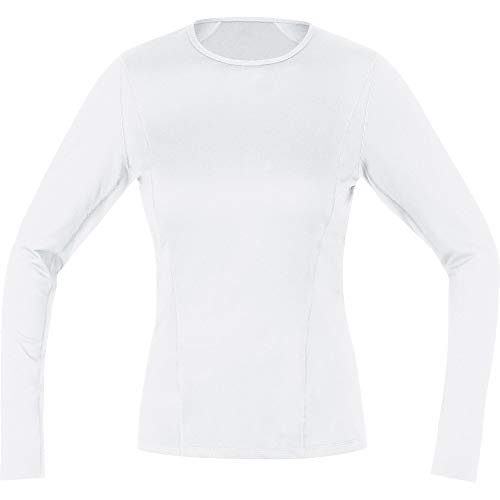 GORE WEAR M Femme Base Layer Maillot à manches longues Maillot manches longues Femme white FR: S (Taille Fabricant: 36)